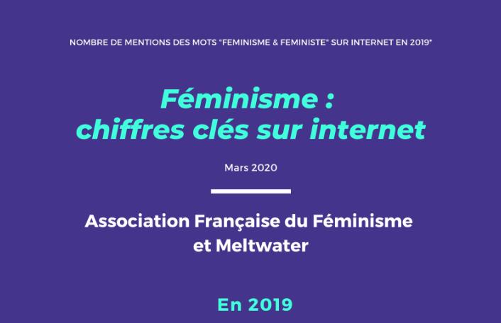 Les chiffres clés du féminisme sur internet en 2019 - AFF