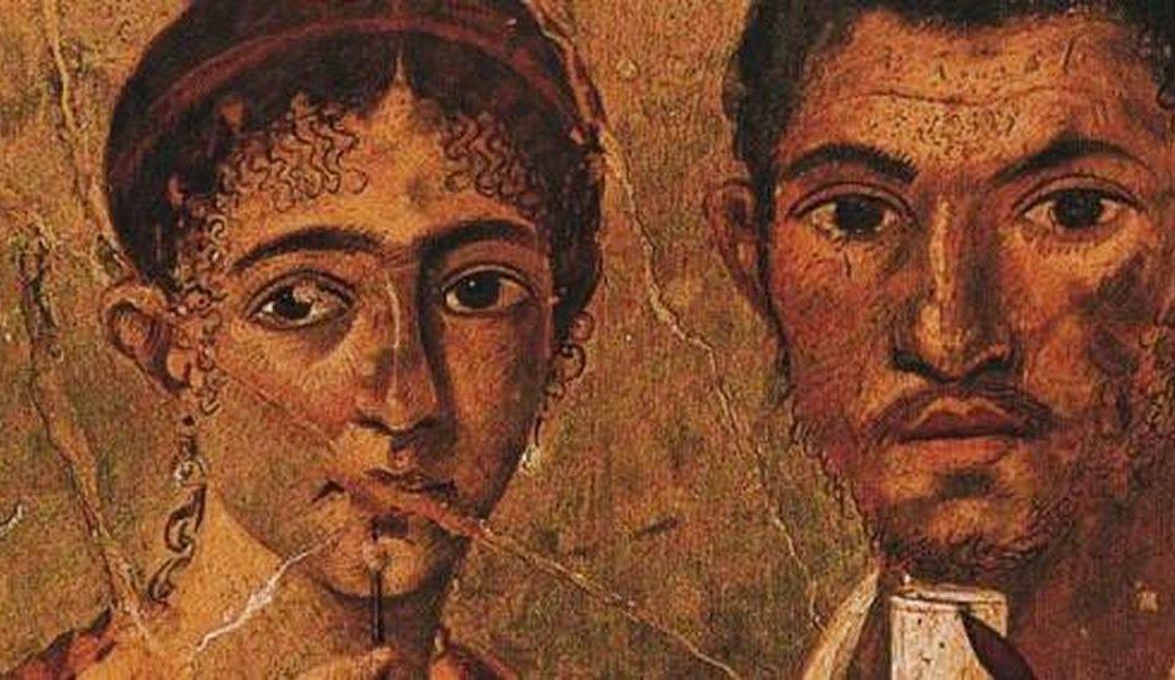 Portrait d'un couple Romain