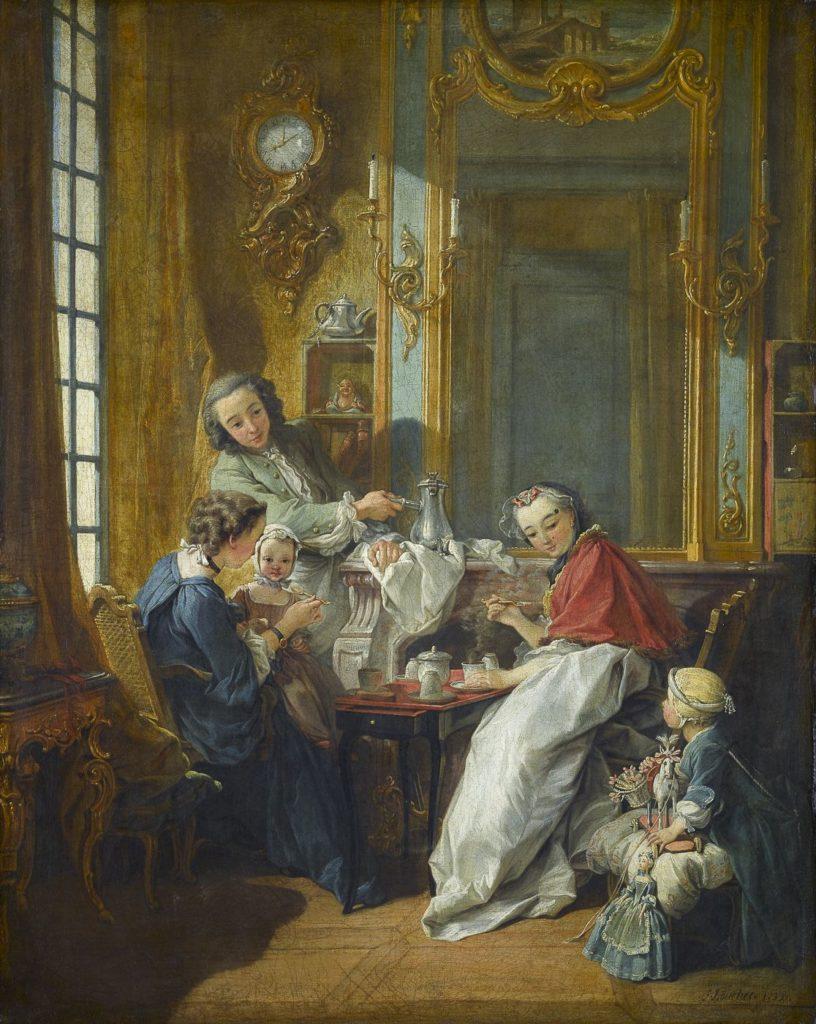 François Boucher. Le déjeuner (1739)