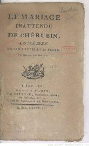 Le mariage inattendu de Chérubin - Olympe de Gouges