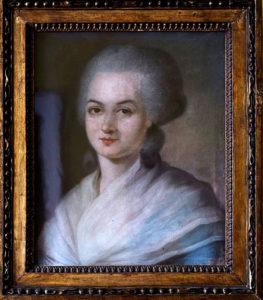 Portrait d'Olympes de Gouges, révolutionnaire et féministe