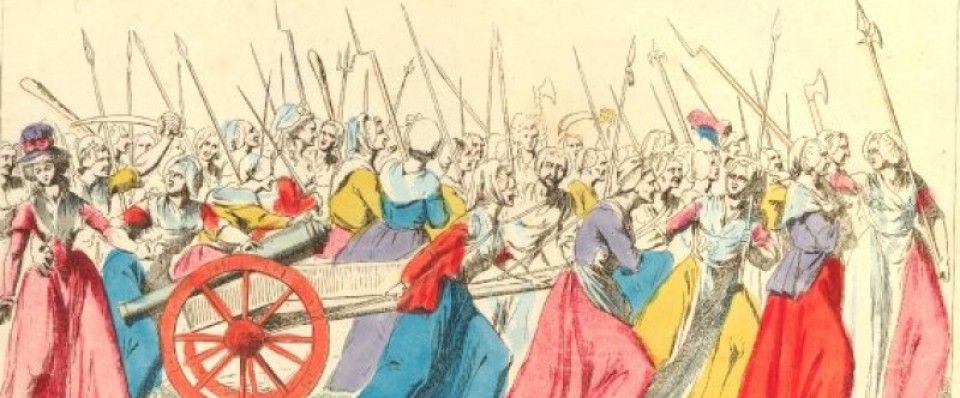 Cors armé de citoyennes à la Révolution