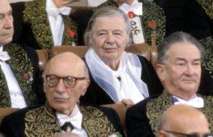 Marguerite Yourcenar fut la 1re femme élue à l'Académie Française
