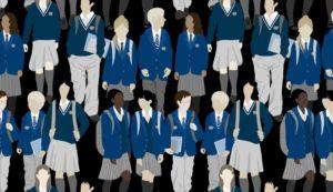Uniforme à l'école
