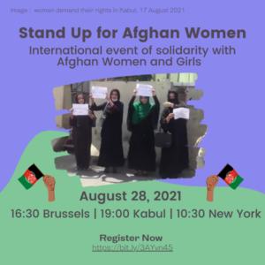#StandUp4AfghanWomen #feministsolidarity